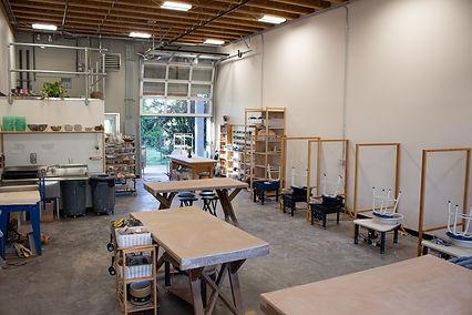 Northwest Ceramics Studio Inside