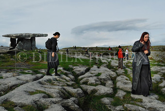 Poulnabrone. County Clare. Irlande