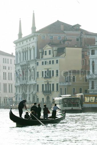 Le grand canal. Venise. Italie