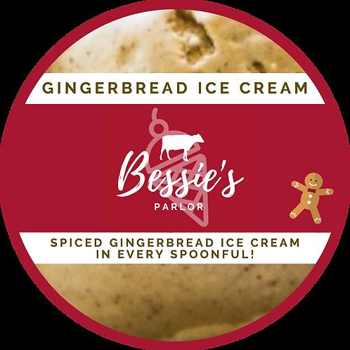 gingerbread ice cream pint