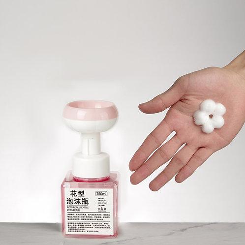 透明花花泡沫瓶 Flower Foaming Bottle 250ml