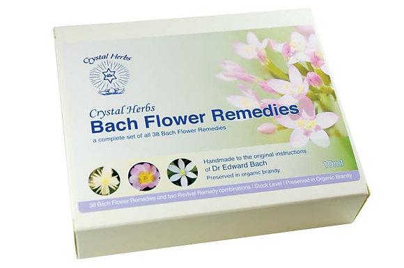 Bach Flower Remedy Sets 10ml  巴哈花精40支10ml 紙盒套裝