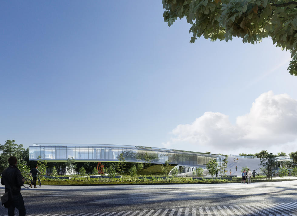 Competition of Xiaomeisha Tourist Information Center, Shenzhen, China/ BGNR