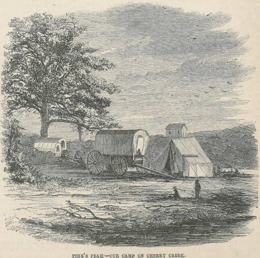 Denver History Cherry Creek