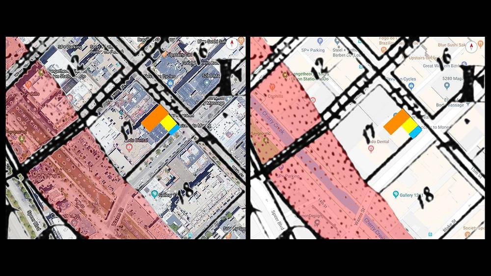 Denver Map Overlay
