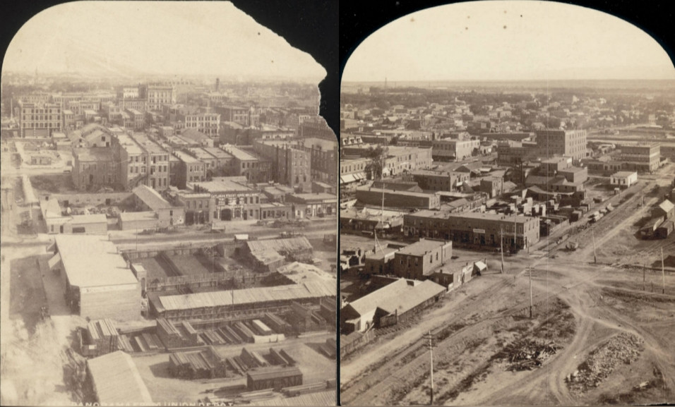 Lower Downtown, Chinatown Denver, 1879