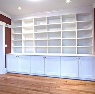 Custom Woodwork and Shelving