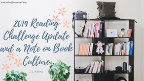 2019 Reading Challenge Update and a Note on Book Culture
