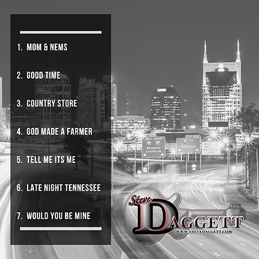 Late Night Tennessee CD BACK COVER