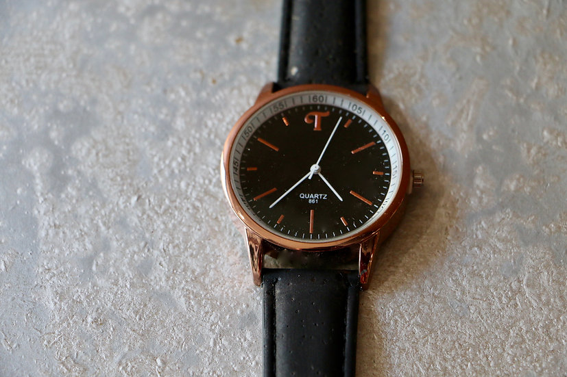 Men's Cork Band Watch