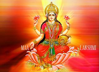 明日はラクシュミー女神の満月〇