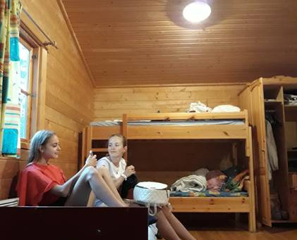 Study English and make friends! Camper answers questions - Kristina, Russia