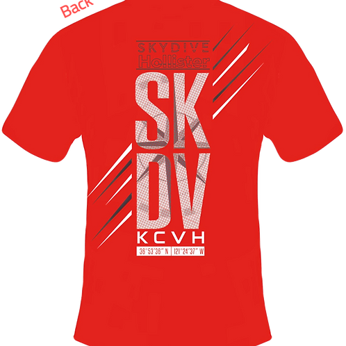 Skydive Hollister Short Sleeve T-Shirt - SKDV Men's