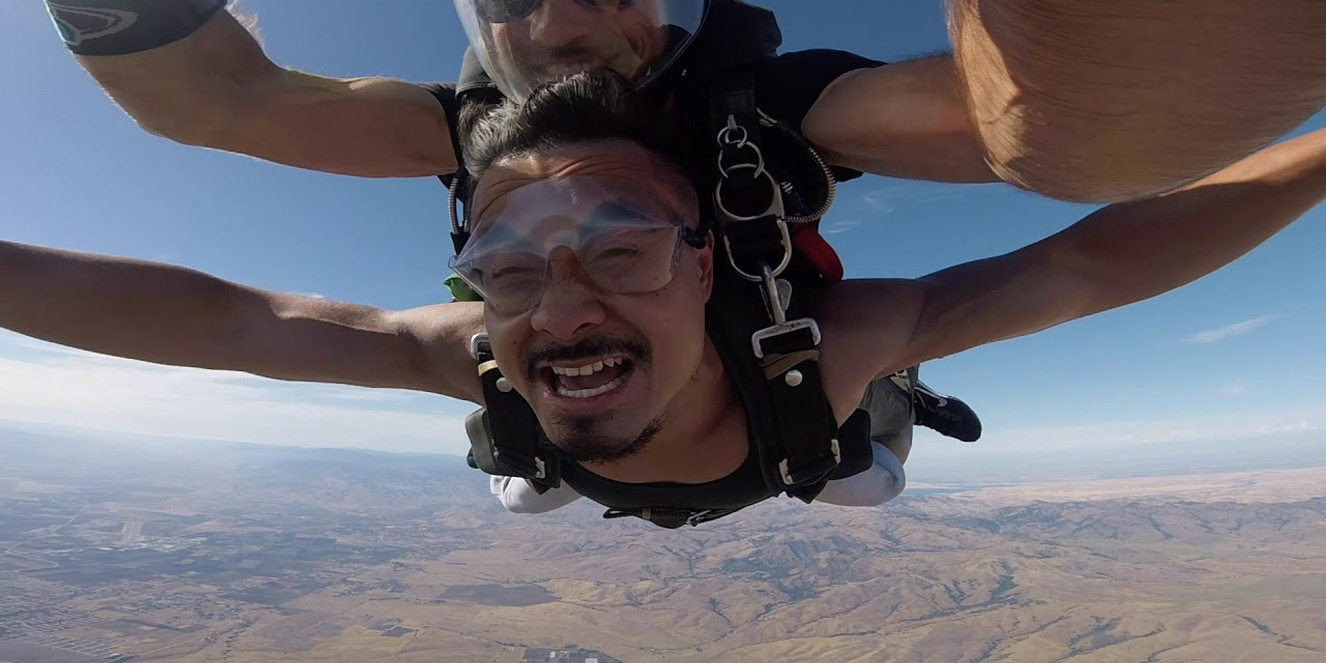 Phanat's June 2019 First Tandem Skydive in Hollister