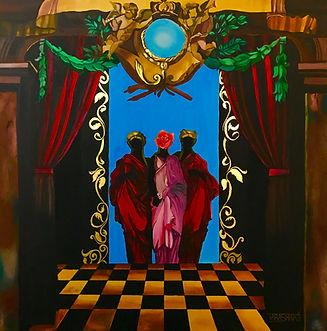 alchemy, occultism, transmutation, Tara Shakti, artiste, Carrousel du Louvre