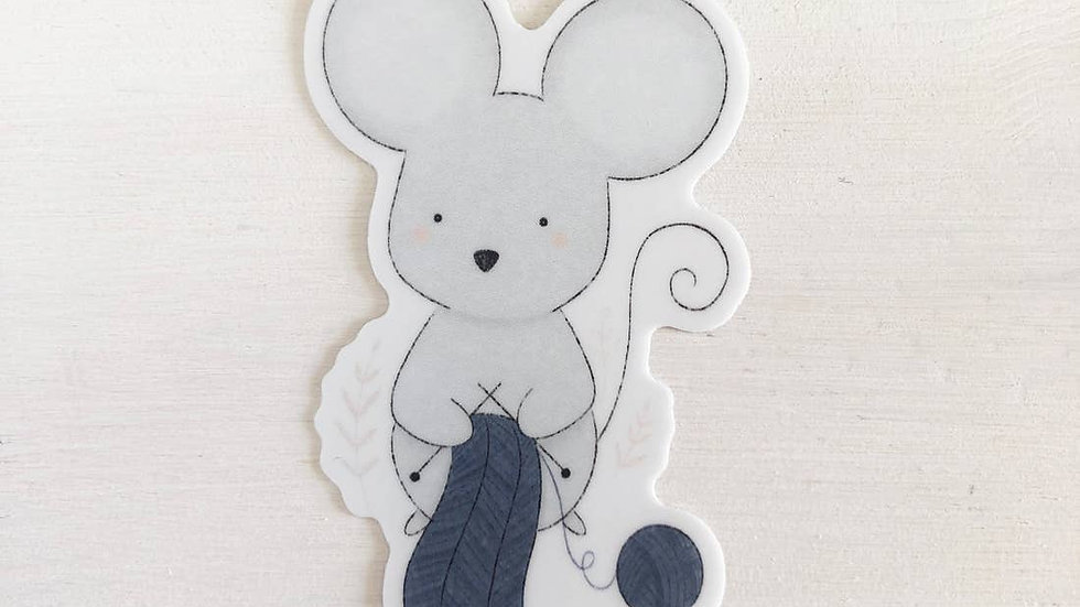 Mouse- Sticker