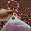 Thumbnail: Rubber Disc Bangle Key Ring