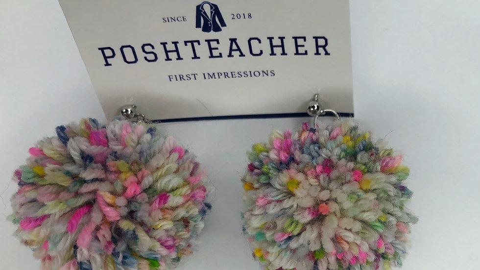 Pom- Pom Earrings