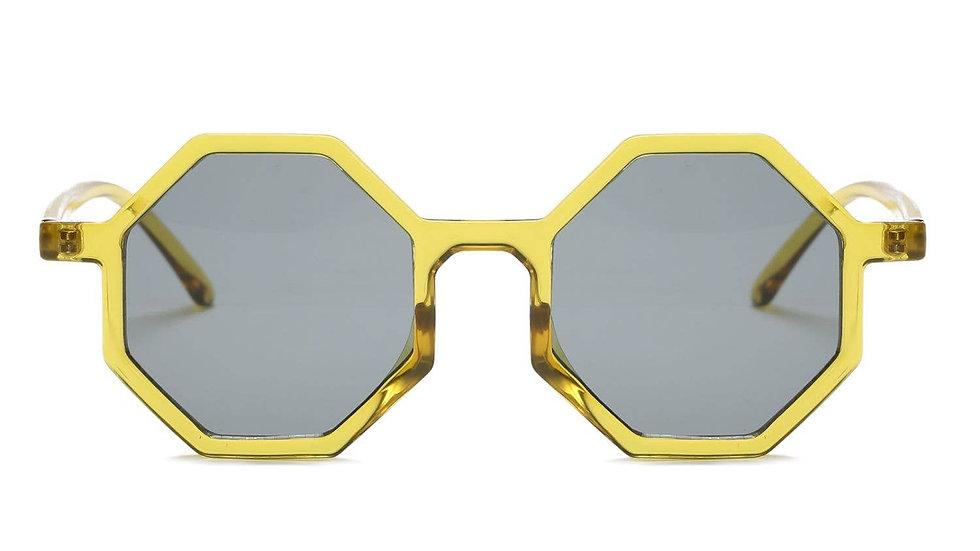 Women Fashion Geometric Round Sunglasses-item# G1