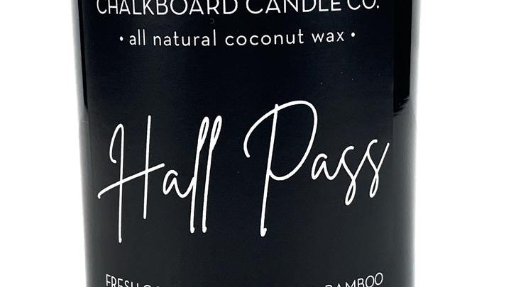 Hall Pass Soy Candle