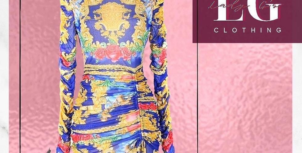 Royal Fit long-sleeved Dress
