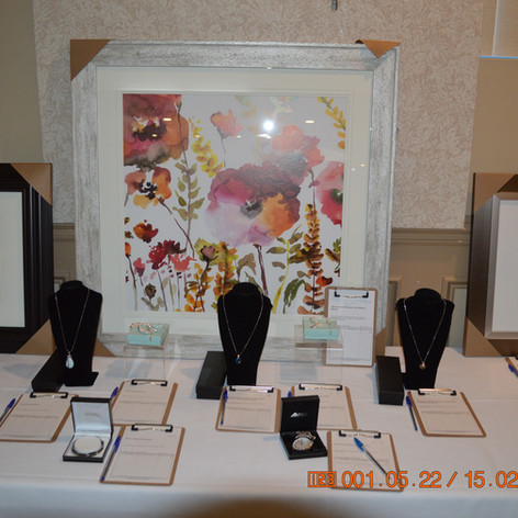 The Auction Items For The Ladies