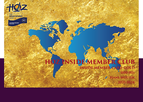 HOZ INSIDE MEMBER GOLD
