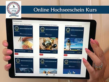 Nautische Akademie ❘ Hochseeschein Online Kurs ❘ www.nakad.ch