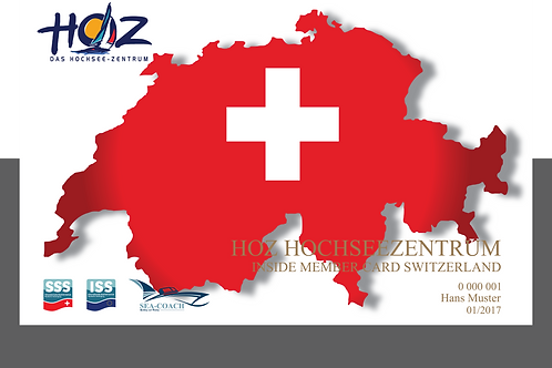 HOZ iNSiDE MEMBER CARD - SWITZERLAND