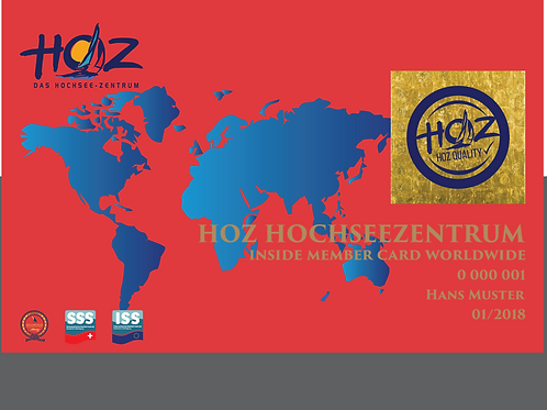 HOZ iNSiDE MEMBER CARD - WORLDWIDE