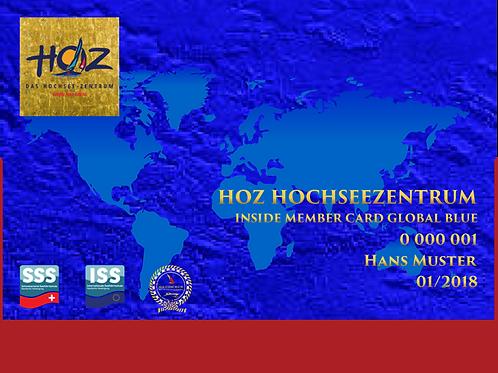 HOZ iNSiDE MEMBER CARD - GLOBAL BLUE
