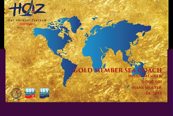 HOZ iNSiDE MEMBER CARD - GOLD MEMBER  SEA-COACH