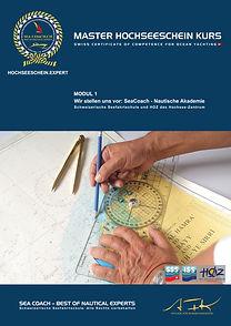 Nautische Akademie ❘ Hochseeschein Modul 1 ❘ www.nakad.ch