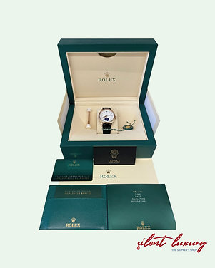 NEW ROLEX CELLINI, Moonphase, White Dial, Rose Gold. Ref. 50535