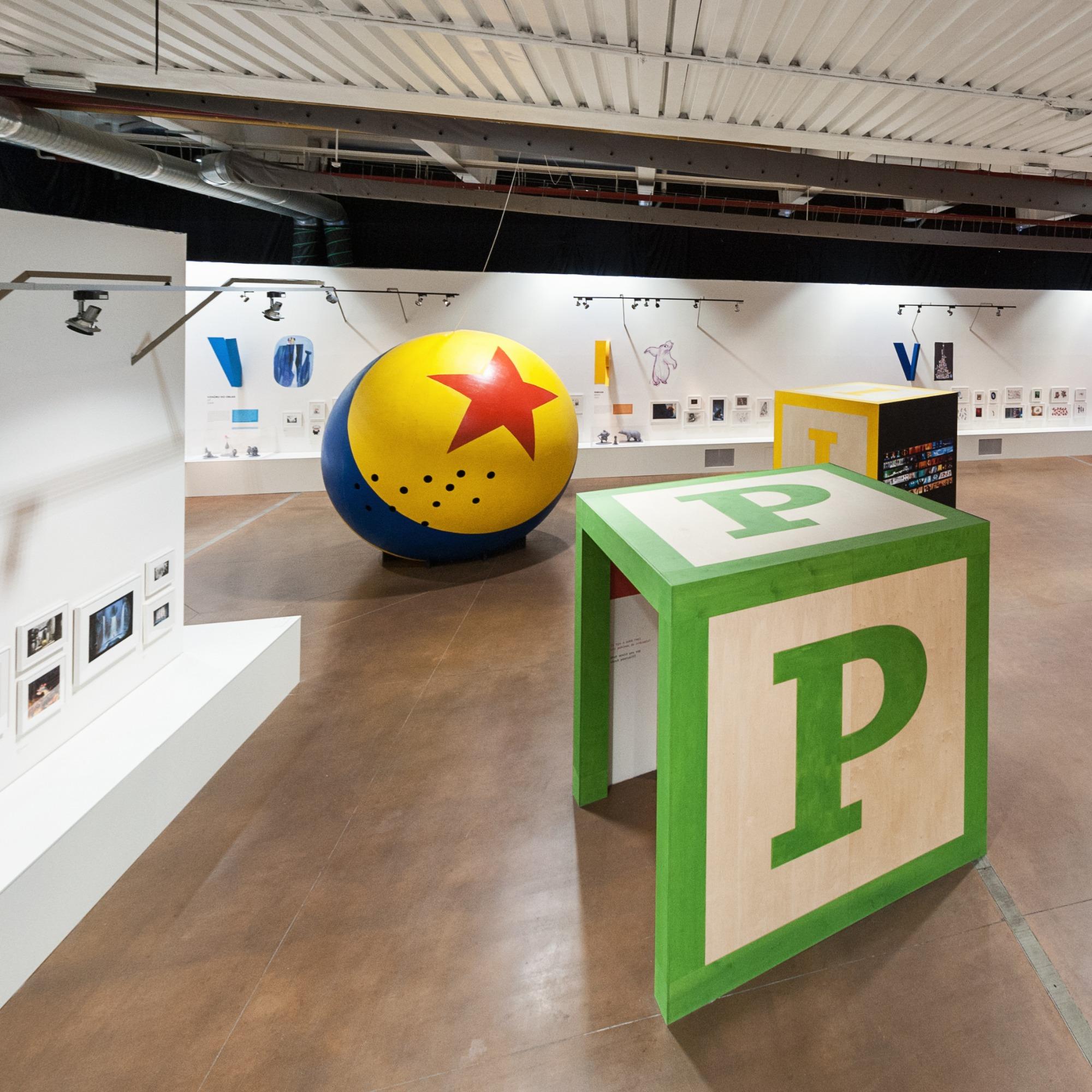 výstava Pixar