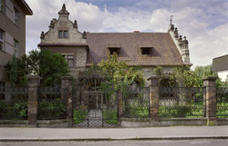 Obereignerova vila_celni pohled