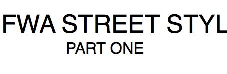 MBFWA STREET STYLE