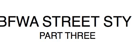 MBFWA STREET STYLE III