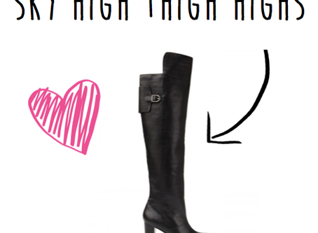 Sky High Thigh Highs