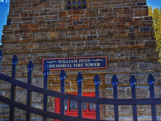 Haunted William Penn memorial Fire Tower - Paranormal Investigation