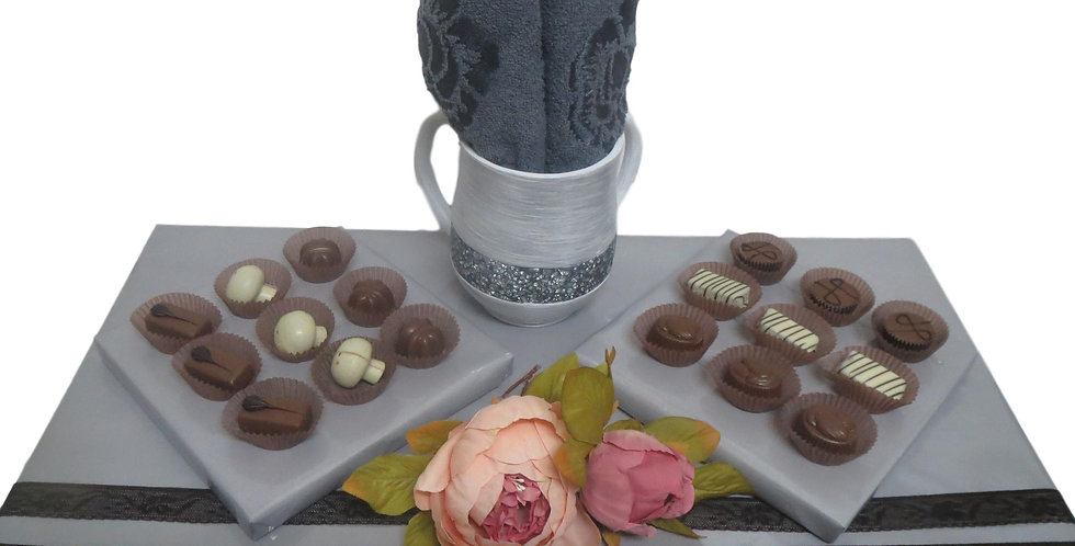 Washing Cup with Belgian Chocolates