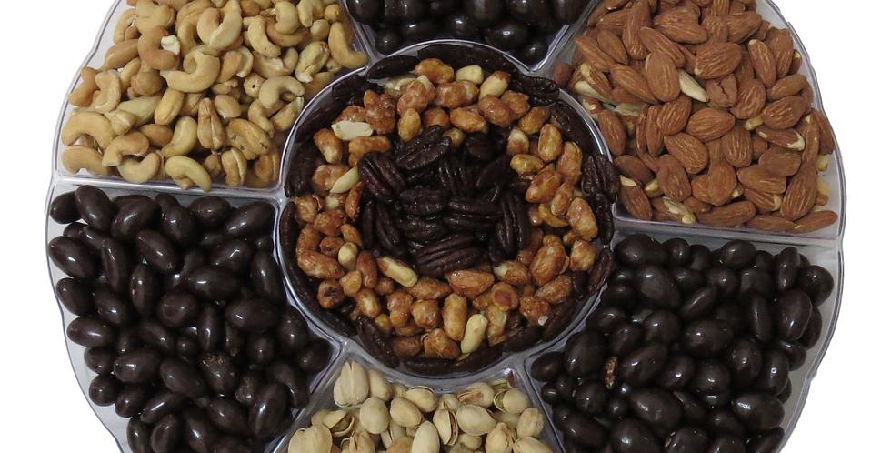Mega Chocolate and Nut Platter