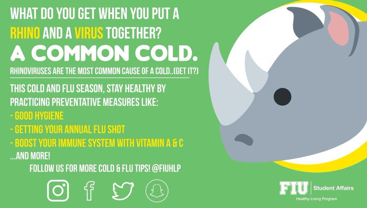 Cold & Flu Campaign 2018