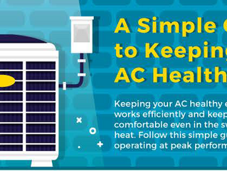 A guide to keeping your AC Healthy (Infographic)