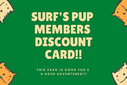 Surf's Pup Membership Pass!