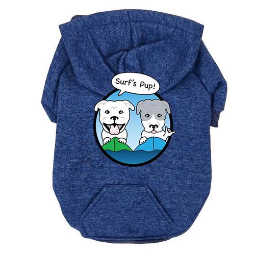 Surf's Pup Dog Hoodie!