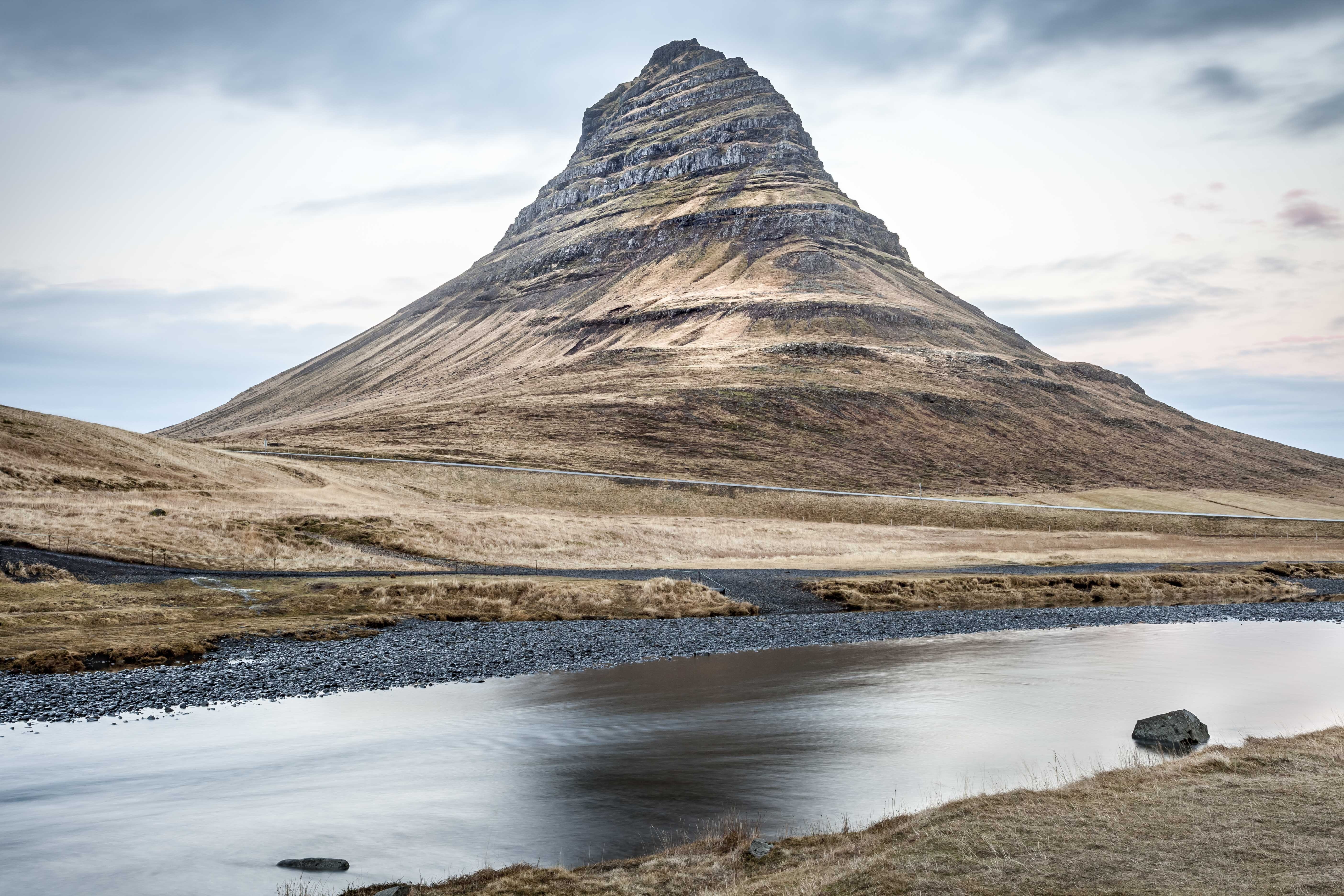 Kirkjufell Mountain. Iceland. 2016.