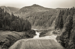Old Elwha Dam Lookout, 2012.