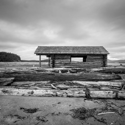 Spencer Spit Cabin. 2017. Lopez Island, WA.
