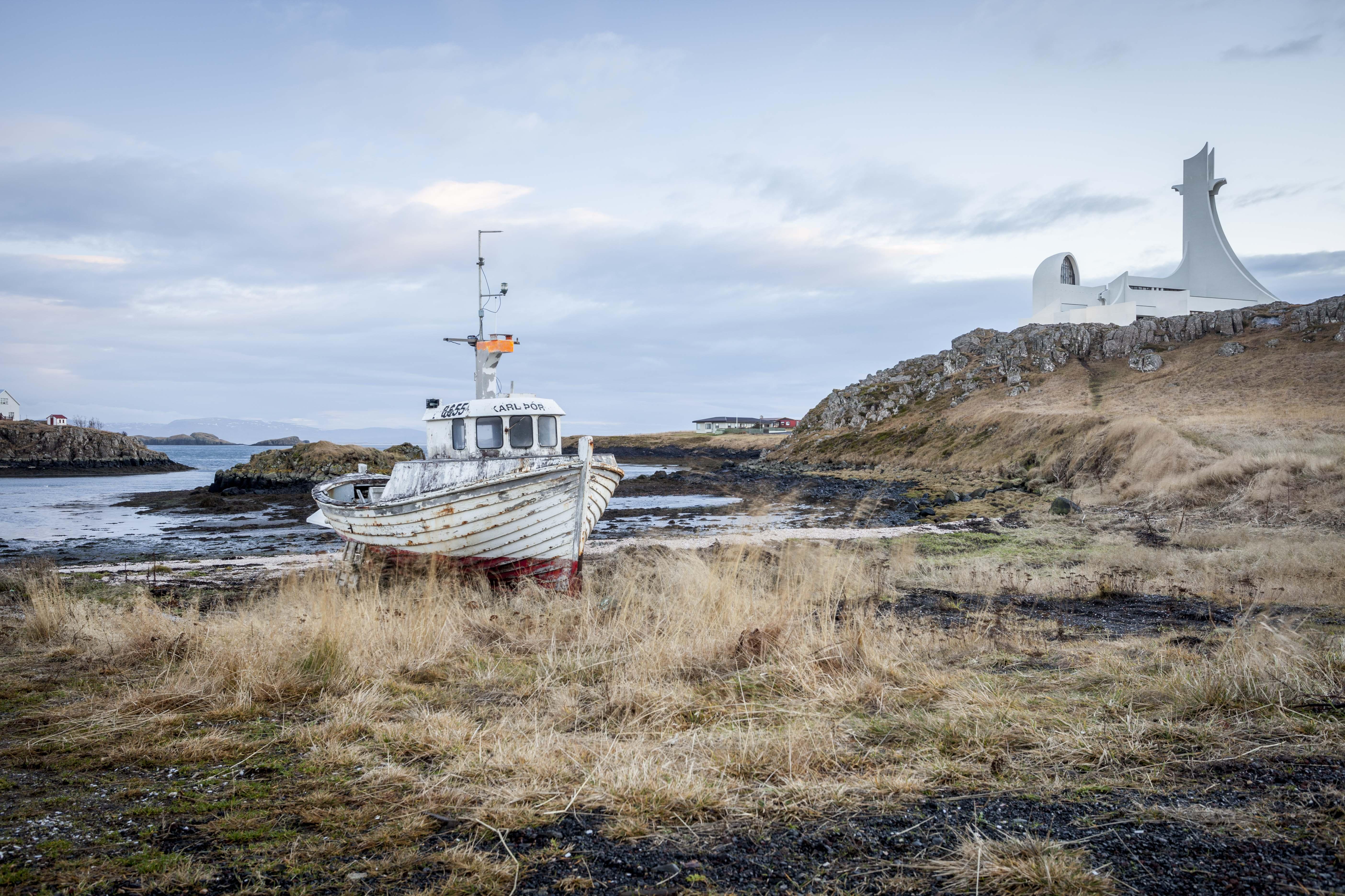 Stykkishólmur Boat, Iceland. 2016.